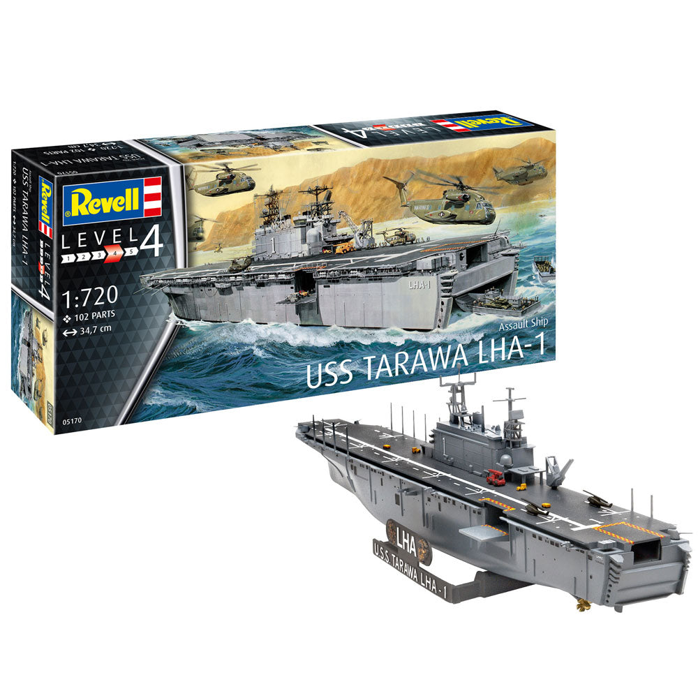 REVELL ASSAULT SHIP USS TARAWA LHA-1 1:720 05170