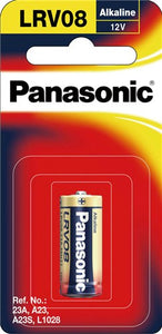 Panasonic A23 12V Alkaline Car Alarm Battery