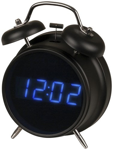 LED Retro Alarm Clock with FM Radio