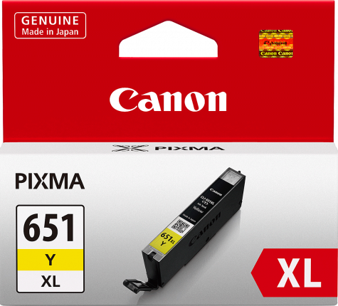 Canon CLI651YXL High Yield Yellow Ink Cartridge