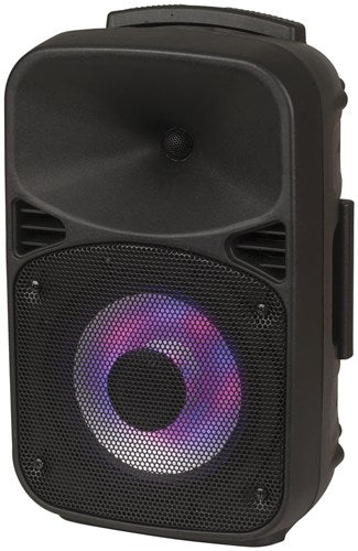 8 Inch Rechargeable PA Speaker with Bluetooth® Technology