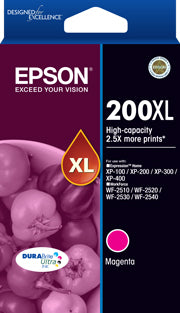 Epson 200XL Magenta High Capacity Ink Cartridge