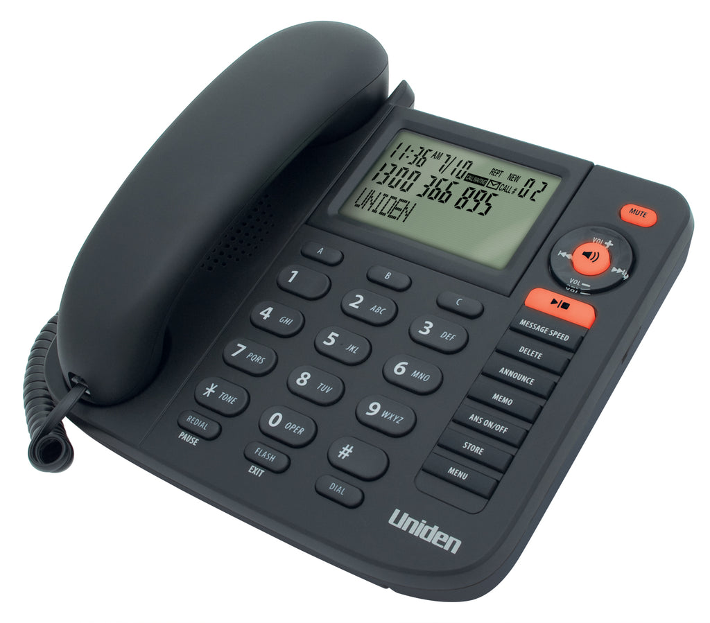 Uniden FP1355 Corded Phone with Answering Machine