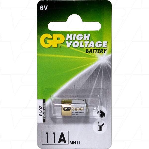 GP11A 6V Alkaline Car Alarm Battery