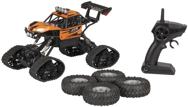 GT4247  R/C 2-in-1 Rock Crawler 1:18