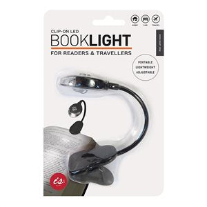 Clip On LED Book Light for Travellers IS5501