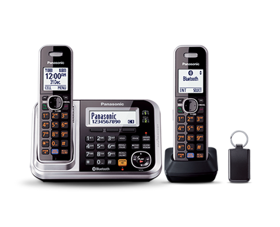 Panasonic KXTG7892 2 Hand Set Cordless Phone