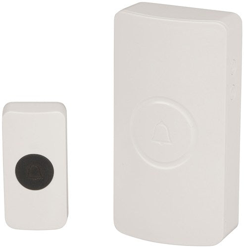 Battery Operated Wireless Doorbell with 38 Melodies