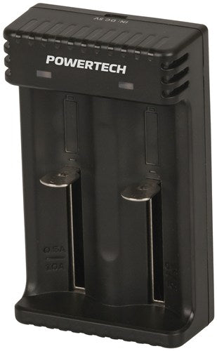 Dual Channel Li-ion/ Ni-MH Battery Charger