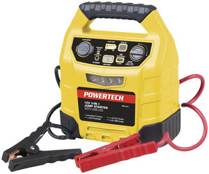Jump Starter 12V 12Ah with 2.4A USB and LED light