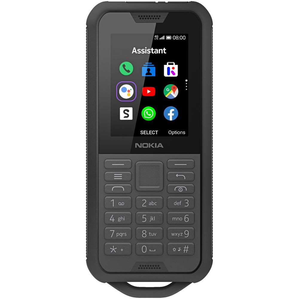 Nokia 800 Tough Phone 4G Charcoal