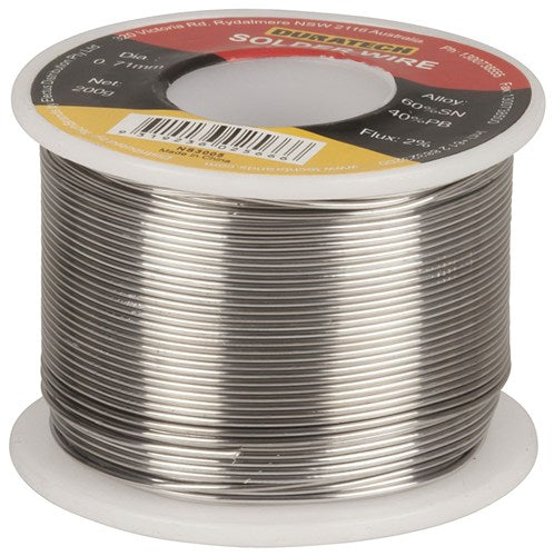Duratech Solder 200gm 0.71mm Diameter
