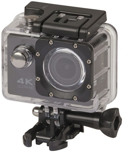 4K UHD Action Camera W/ WiFi and LCD
