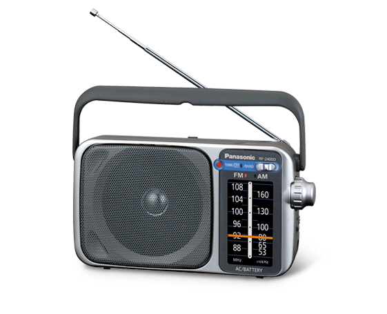 Panasonic RF-2400D AM/FM Radio