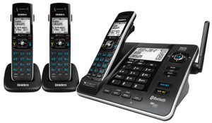 Uniden XDECT8355+2 Extended Long Range 3 Handset Cordless Phone System