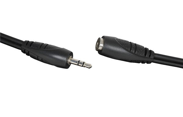 Audio Lead 3.5mm Stereo Plug to 3.5mm Stereo Socket