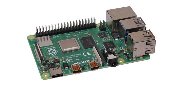 Raspberry Pi 4 Model B Single Board Computer 4GB