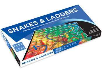 Blue Opal Snake and Ladders 01803