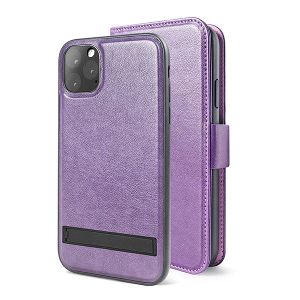 Distrakted Freedom iPhone 11Pro 2in1 Folio Case Purple