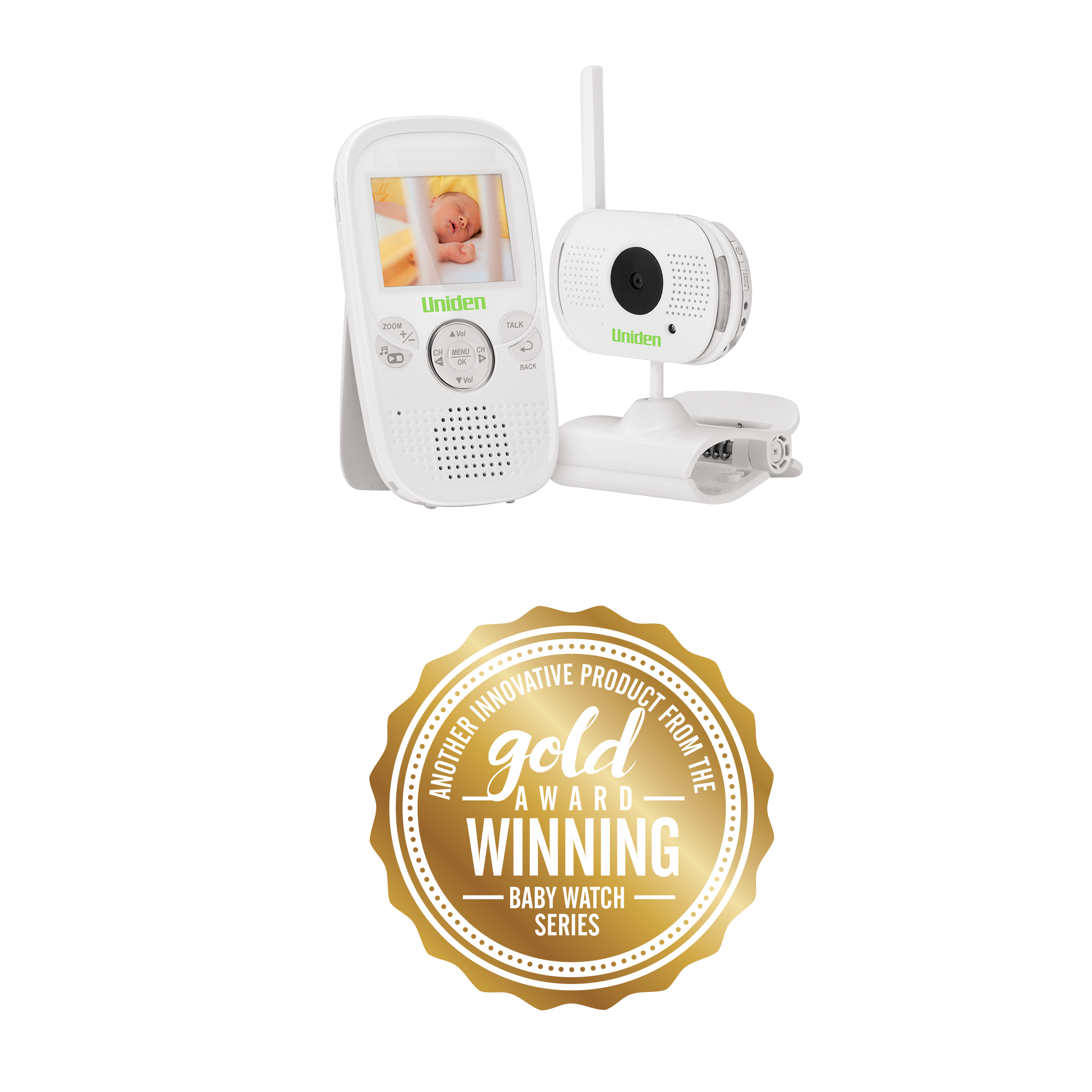 Uniden BW3001 Baby Monitor w/video 1xCam