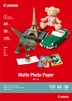 Canon MP101 Matte Photo Paper A4 (50 Sheets)