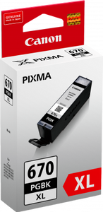 Canon PGBK670XL High Yield Black Ink Cartridge
