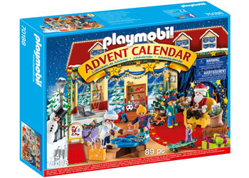 Playmobil - Advent Calendar - Christmas Toy Store 89pc