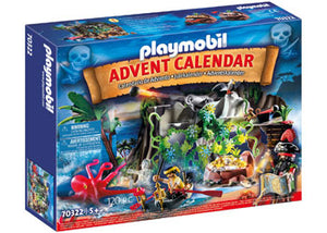Playmobil - Advent Calendar - Pirates 120pc