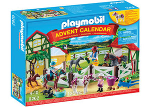 Playmobil - Advent Calendar - Horse Farm 125pc