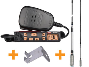 GME TX3100 Value Pack 5 Watt Super Compact UHF CB Radio