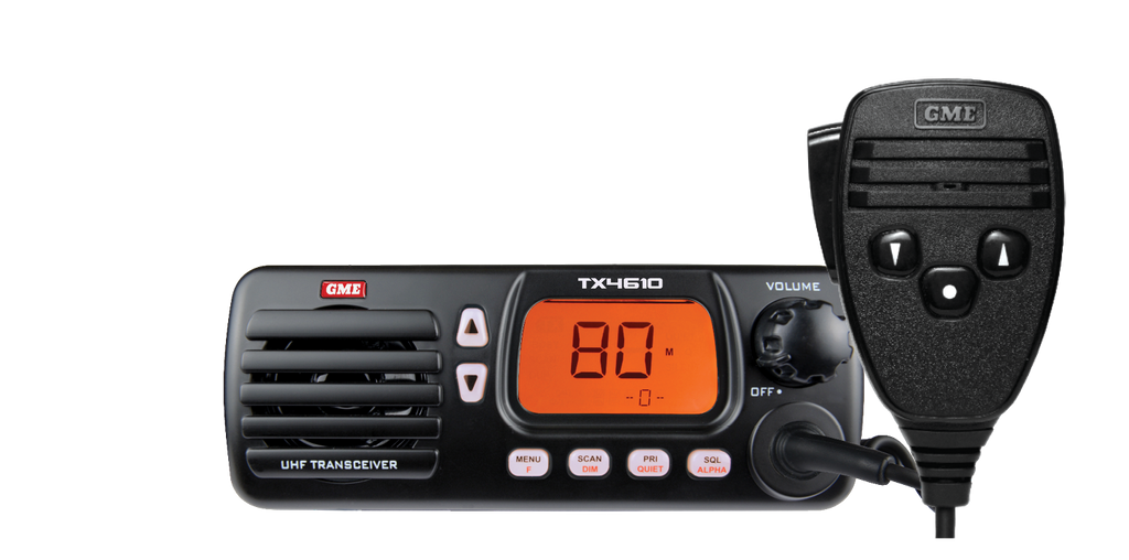 GME TX4610 5WATT IP67 UHF CB RADIO