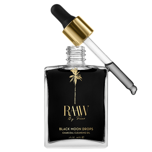 RAAW By Trice Black Moon Drops Charcoal Cleansing Oil