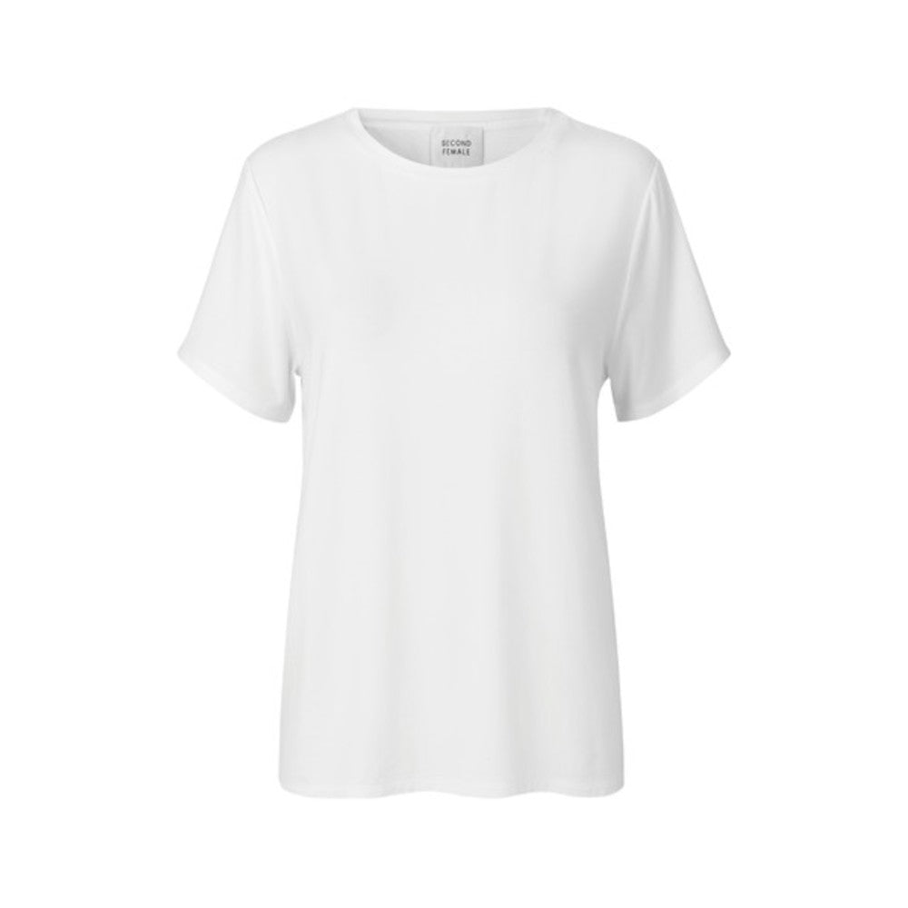 Second Female Ello Loose SS Tee White