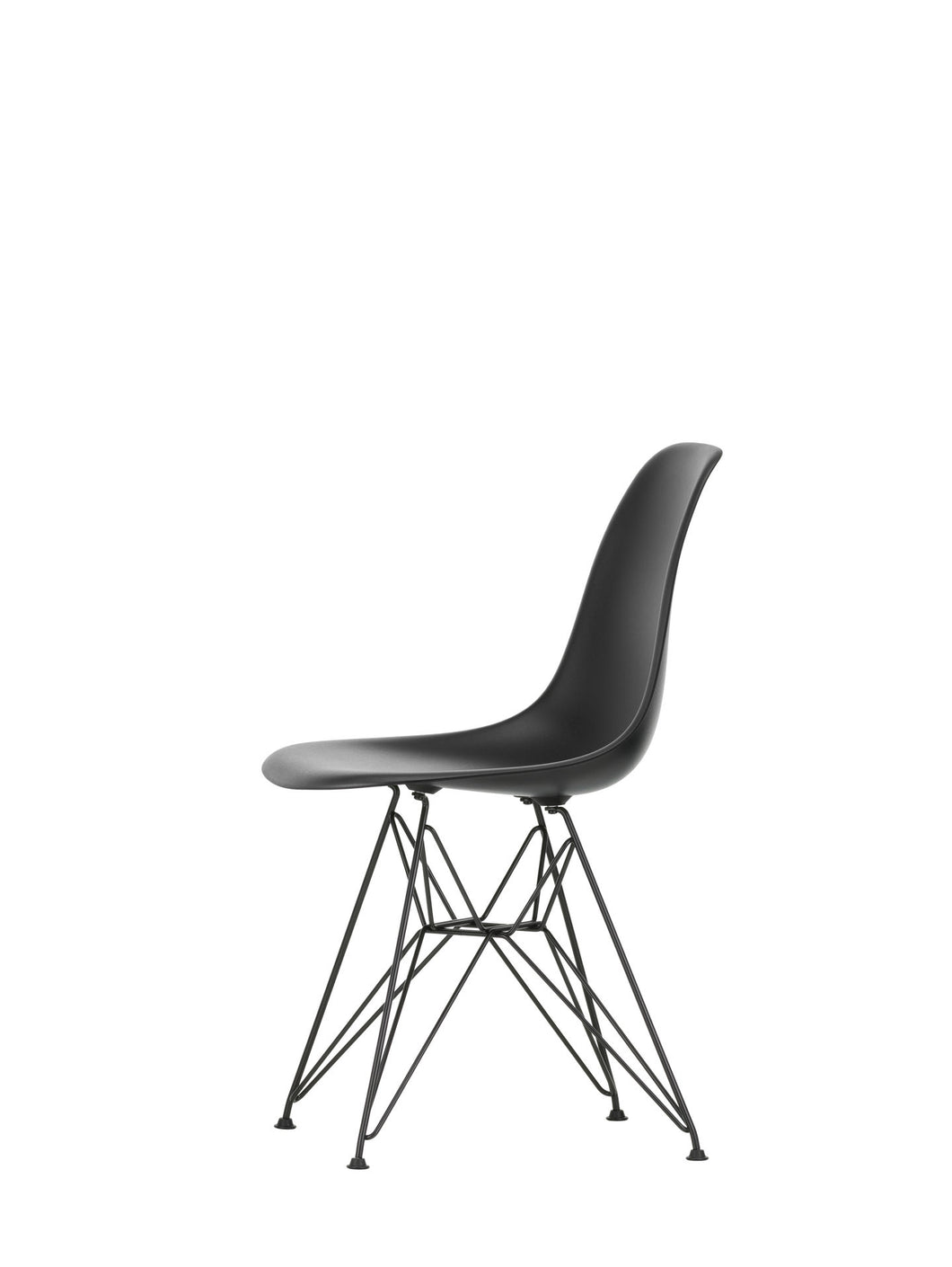 Vitra Eames - DSR - Basic Dark Base Deep Black