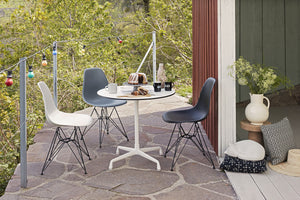 Vitra Eames - DSR - Basic Dark Base Pebble