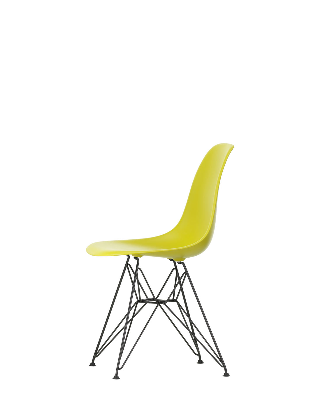 Vitra Eames - DSR - Basic Dark Base Mustard