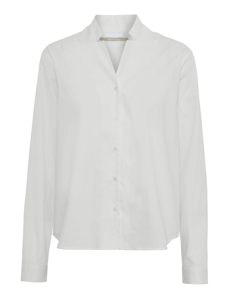 2ND DAY Beth ThinkTwice Bluse Bright White