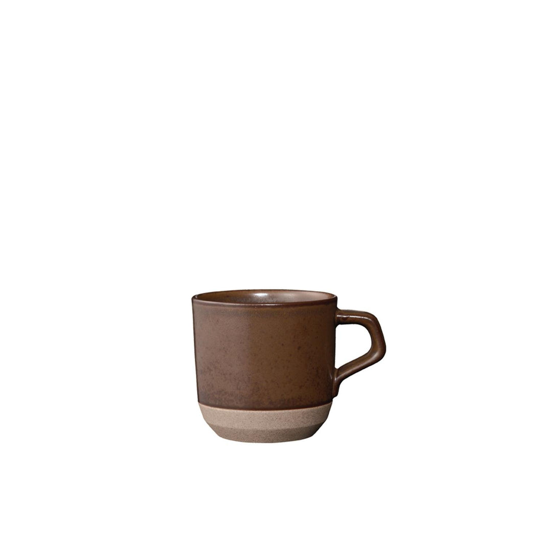 Kinto Japan Ceramic lab Small Mug Brun
