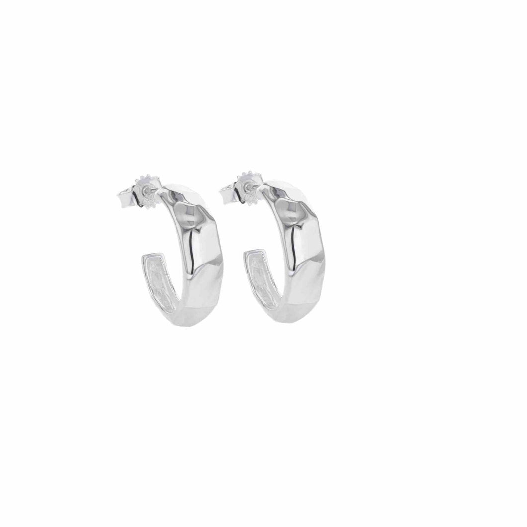 Hasla Elements Picasso Hoops Silver