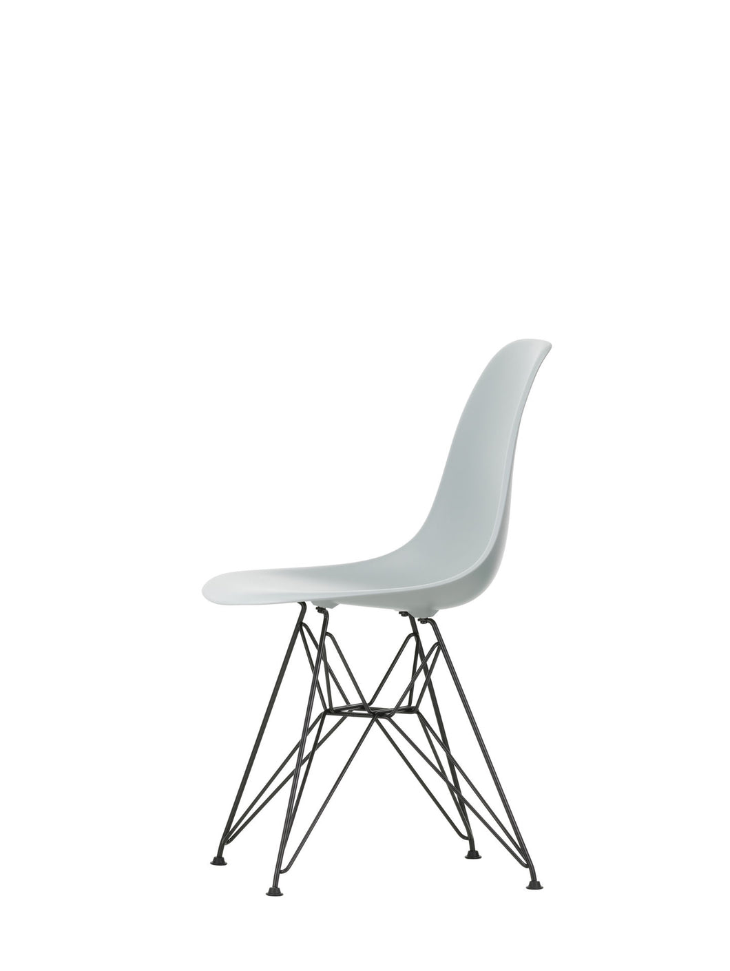 Vitra Eames -  DSR - Basic Dark Base Light Grey