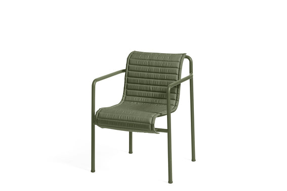 Hay Palissade dining armchair Cushion Olive