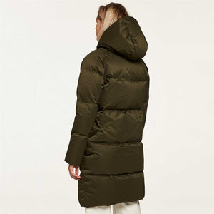 Fleischer Couture Pollux Down Coat Forest Night
