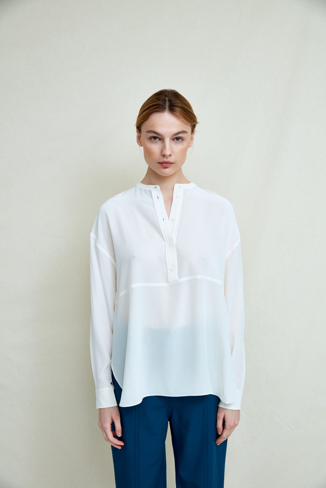 FWSS Your Woman Bluse Jet Stream White