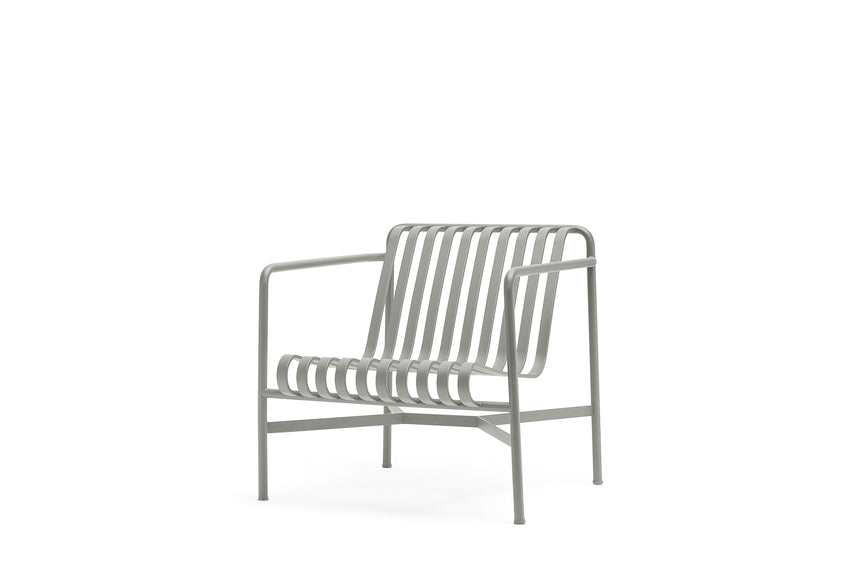 Hay Palissade lounge chair - low Sky Grey