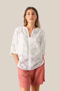 Second Female Mila SS Blouse White