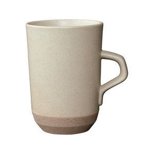 Kinto Japan Ceramic lab Large Mug Beige