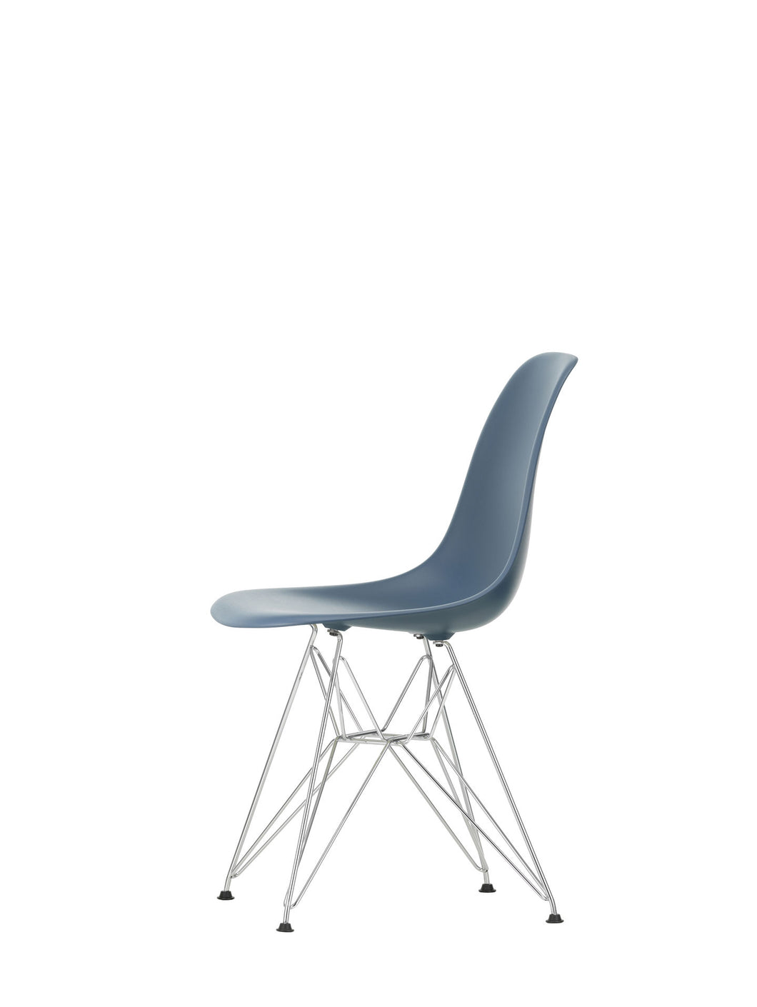 Vitra Eames- DSR - Chrome Base Sea Blue