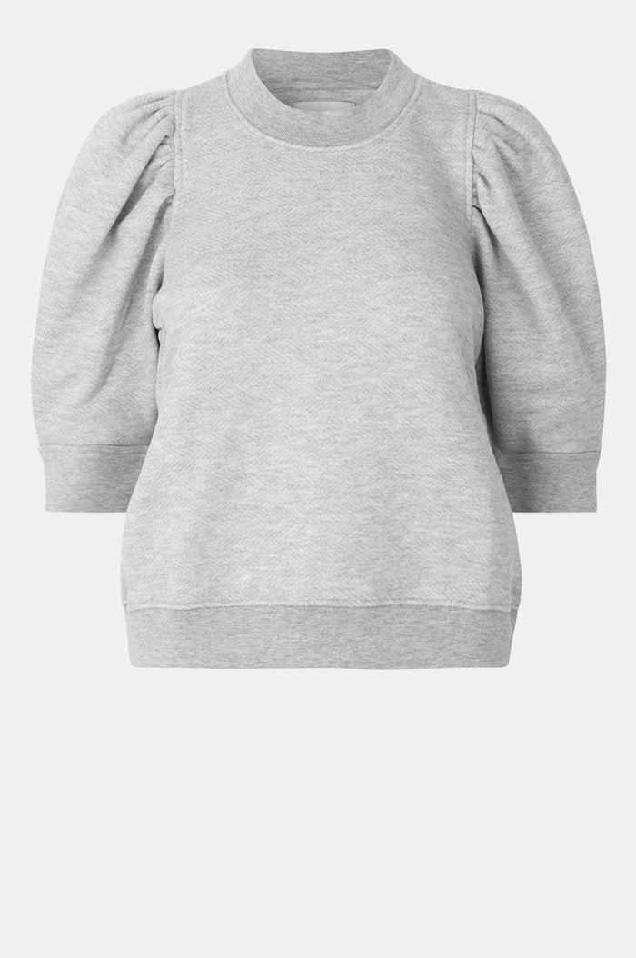 Second Female Dawni Sweat Tee Grey Melange