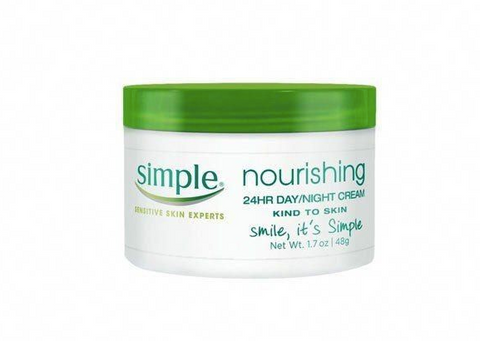 simple day and night cream