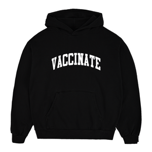 Vaccinate Arch Unisex Hoodie